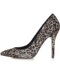 Topshop Gwenda2 Leopard Court Shoes - Lyst