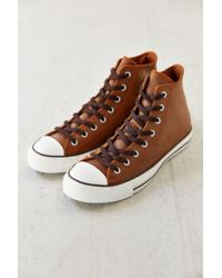 Converse Chuck Taylor All Stars Leather Mens Sneaker - Lyst
