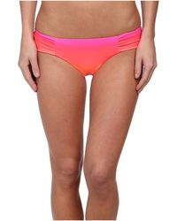 Seafolly Miami Ruched Side Pant - Lyst