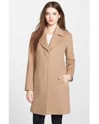 Fleurette - Wool Notch Collar Coat - Lyst