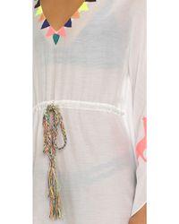 Pia Pauro - Embroidered Beach Caftan - Lyst