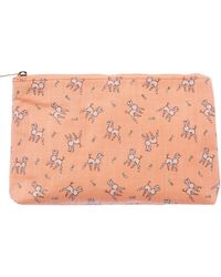 Ollie & Nic - Maple Coral Large Cosmetic Bag - Lyst