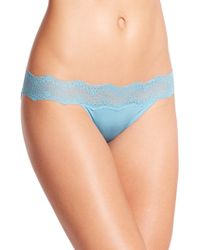 Le Mystere Perfect Pair Lace Bikini Briefs - Lyst