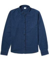 Sunspel Button Down Shirt - Lyst