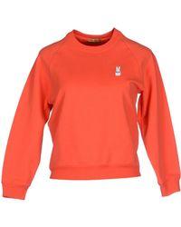 Peter Jensen Sweatshirt orange - Lyst
