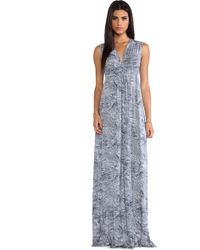 Rachel Pally Long Sleeveless Caftan Dress - Lyst