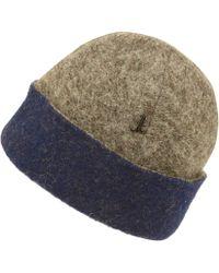Muhlbauer - Grey Giuseppe Fleece Beanie Hat - Lyst