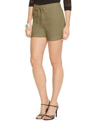 Ralph Lauren Drawcord Chino Short - Lyst