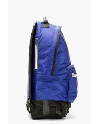 Kris Van Assche - Navy Nylon Backpack - Lyst