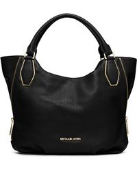 Michael by Michael Kors Vanessa Leather Medium Shoulder Tote Bag - Lyst