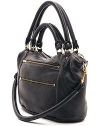 Deadly Ponies Mr. Fill N Zip Twist Satchel - Black black - Lyst