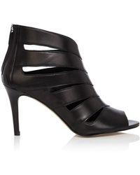 Karen Millen Cut Out Shoe Boot black - Lyst