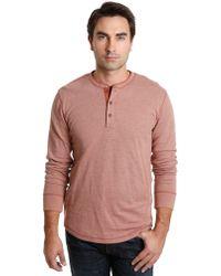 Lucky Brand Tribal Henley Shirt - Lyst