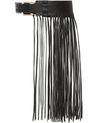 By Malene Birger - Sunda Fringed Leather Belt - Lyst