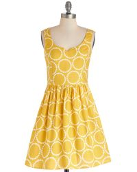 ModCloth Air Of Adorable Dress - Lyst