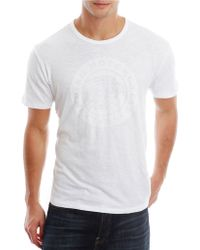 Lucky Brand Graphic Tee - Lyst