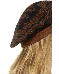 Missoni Basque Hat - Pink - Lyst