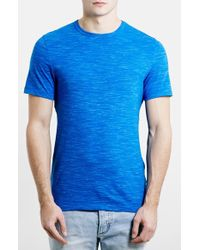 Topman Men'S Slim Fit Space Dye T-Shirt - Lyst