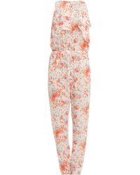 Paul & Joe Sleeveless Floral Printed Jumpsuit - Lyst