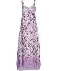 Liu Jo Long Dress - Lyst