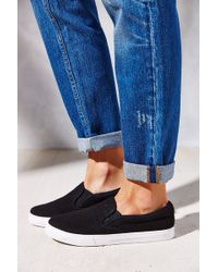 Jeffrey Campbell Ray Wool Slipon Sneaker - Lyst