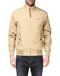 Fred Perry Zipped Jacket - Fpj6273 - Lyst
