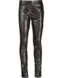 Haider Ackermann Panel Leggings - Lyst
