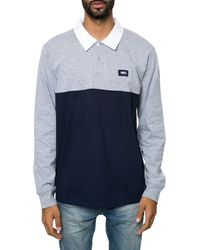 Obey The Offside Long Sleeve Sle Polo Shirt - Lyst