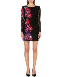 Emilio Pucci Embroidered Floral Lace Dress - Lyst