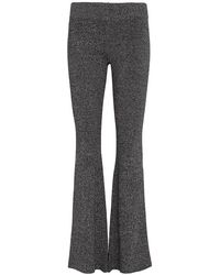 Exclusive For Intermix - Fiona Marled Flare Pant - Lyst