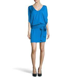 Diane Von Furstenberg Edna Woven Dress - Lyst