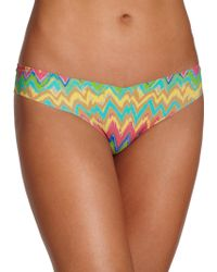 Commando Printed Thong - Lyst