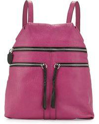 orYANY - Chloe Leather Backpack - Lyst
