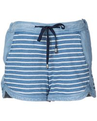 Splendid Drawstring Striped Shorts - Lyst