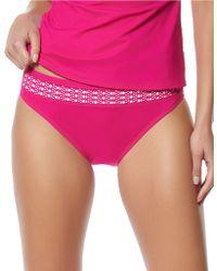 Bleu Rod Beattie - A Cut Above Hipster Bikini Bottom - Lyst