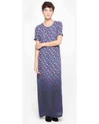 Band Of Outsiders Mini Rose Gown - Lyst