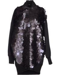 Maison Margiela Paillette-Embellished Canvas Baseball Jacket - Lyst