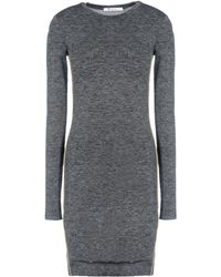 T By Alexander Wang Short Dress - Lyst