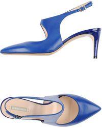 Giorgio Armani Pump blue - Lyst