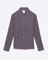 Billy Reid Murphy Shirt blue - Lyst