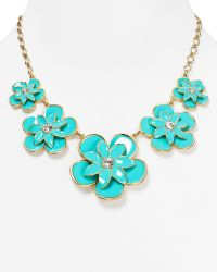 Kate Spade Daylight Jewels Bib Necklace - Lyst