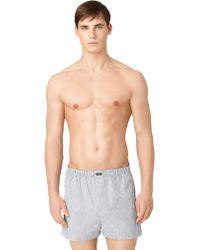 Calvin Klein Woven Boxer Shorts Set - Lyst
