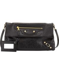 Balenciaga Giant 12 Envelope Clutch Bag With Strap - Lyst