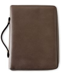 Mulberry Grey Zip-Around Document Folio - Lyst
