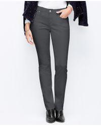 Ann Taylor Curvy Slim Corduroy Pants - Lyst