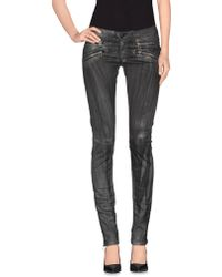 Balmain Casual Pants gray - Lyst