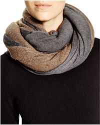 Donni Charm - Together Touch Double Scarf - Lyst