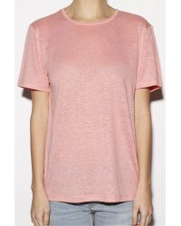 T By Alexander Wang Watermelon Short Sleeve Tee black - Lyst