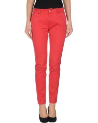Notify Casual Trouser - Lyst