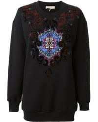 Emilio Pucci Embroidered Sweatshirt - Lyst